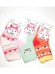Носки для девочек Зувей  (12 штук )