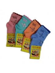 Носки бабочки для девочек (10 шт)