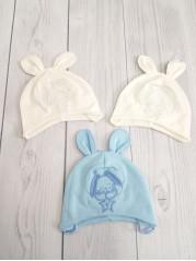 Шапочка для новорожденного мальчика ( в ассортименте)
