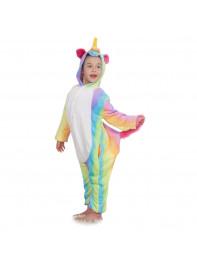 Пижама Кигуруми детская Единорог радужный