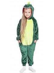 Пижама Кигуруми детская Зеленый дракон