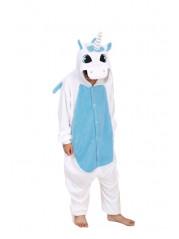 Пижама Кигуруми детская Пегас голубой