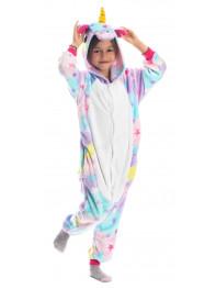Пижама Кигуруми детская Единорог звездный