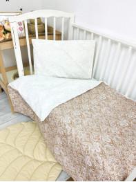 Комплект постельного белья (простынь на резинке) Бязь