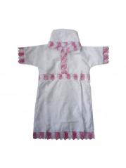 Рубашка крестильная для девочки 2-4 г №1