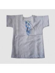 Рубашка крестильная для мальчика 2-4 г №2