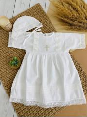 Крестильная Рубашка девочка рост 80-86