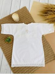 Крестильная Рубашка мальчик рост 80-86