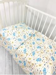 Комплект постельного белья (простынь на резинке) Бязь мод.2