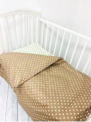 Комплект постельного белья (простынь на резинке) Поплин мод.5