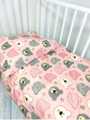 Комплект постельного белья (простынь на резинке) Бязь мод.4