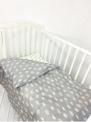 Комплект постельного белья (простынь на резинке) Поплин мод.8