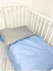 Комплект постельного белья (простынь на резинке) Поплин мод.7