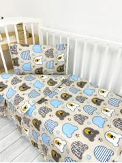 Комплект постельного белья (простынь на резинке) Бязь мод.3