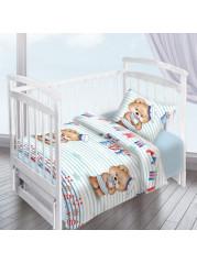 Комплект постельного белья (простынь на резинке) Перкаль