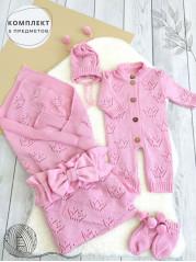Комплект для новорожденного Келли, цвет:  розовый