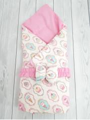 """Конверт-одеяло Малыш """"Пироженки"""""""