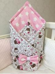 Конверт-одеяло Малыш, девочка