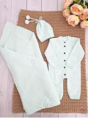 Комплект для новорожденного Мишель, цвет:  мята
