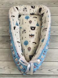 Кокон гнездышко для новорожденного мод.30