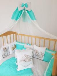 """Бортик в кроватку """"Маленький принц люкс"""""""