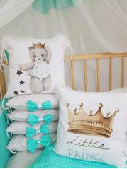 Набор в кроватку из подушечек Маленький Принц - Little Prince