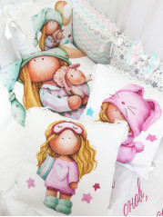 Набор в кроватку Миланья Малышка Люкс