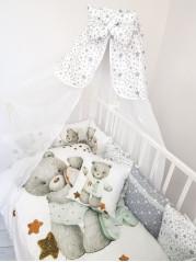 Набор в кроватку Сладкие Мишки Люкс