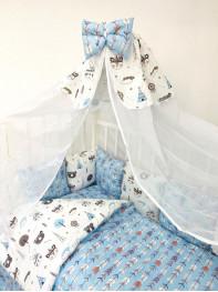 """Набор в кроватку из подушечек """"Маленькие Охотники"""""""