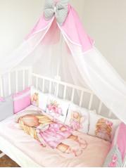 Набор в кроватку из подушечек Миланья Люкс