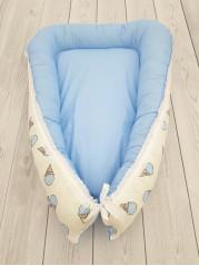 """Кокон гнездышко для новорожденного """"Мороженое"""" мод.23"""