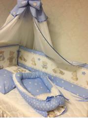 Набор в кроватку №5, стеганые чехлы