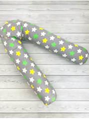 Подушка для беременных  Подкова, цвет серый