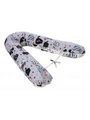 Подушка для беременных  Подкова, цвет серый 4