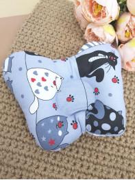 Подушка ортопедическая для новорожденных мод2