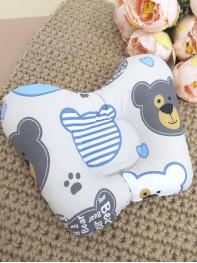 Подушка ортопедическая для новорожденных мод3