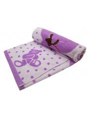 Полотенце для купания 110*110 см цвет : фиолетовый