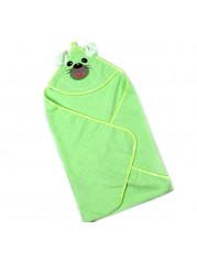 Полотенце уголок, цвет зеленый