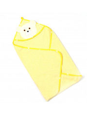 Полотенце уголок, цвет желтый