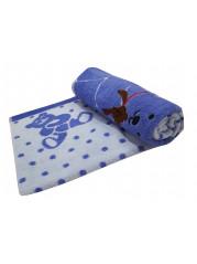 Полотенце для купания 110*110 см цвет : голубой