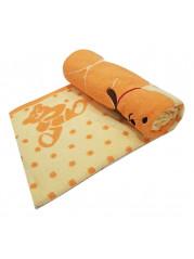 Полотенце для купания 110*110 см цвет : персиковый